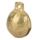 Ancient Steller Brass Pet's Dog Cat Bell - Golden