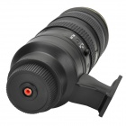 Camera Lens Style Vacuum Cleaner for Car - Black