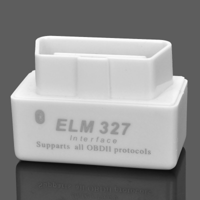 16pin Car OBD2 Connector Bluetooth ELM327 Assembly Shell - White