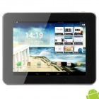 Ampe A85 8' Capacitive Screen Android 4.1 Quad Core Tablet PC w/ TF / Wi-Fi / Camera - Dark Grey