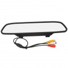 "4.3 ""LCD de color de coche Espejo retrovisor monitor (PAL)"