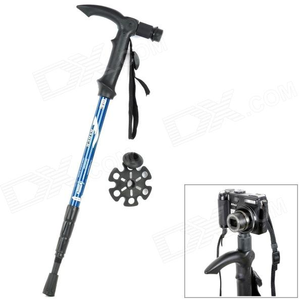 RYDER G0116 2-in1 Aluminum Alloy 4-Section Camera Holder Frame Alpenstocks от DX.com INT