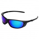 CARSHIRO 069 Fashion Bicycle Men's UV400 Protection Sunglasses - Black