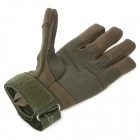 SW3028 Outdoor Sports Full-Fingers Windproof  Mountaineering Gloves - Army Green (Size XL / Pair)
