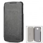 KALAIDENG Enland Series Fashionable Protective Flip-open PU Leather Case for Lenovo S920 - Black