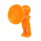 Universal Creative 3D Man Stand Holder Support for Iphone / Cell Phone - Orange