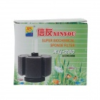 XINYOU XJ-280 Biochemical Cotton Filter for Fish Tank Smaller than 280L - Black + White