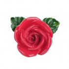 Creative Retro Rose Style Resin Fridge Magnets - Red