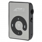 TSTD-MP3-01-HEISE Rechagerable Clip-On MP3 Player w/ TF - Black