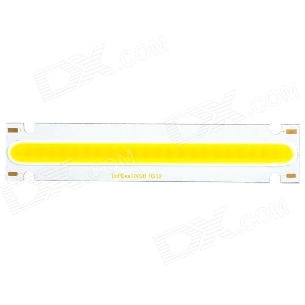 4.8W 450lm 3500K Warm White Light COB LED Rectangle Strip for Spotlight / Ceiling - Silver (DC 6~7V)