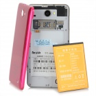 "Newish L19K (Z6_TL ) Android 4.0 GSM Bar Phone w/ 5.0"" Capacitive, Quad-Band and Wi-Fi - Deep Pink"
