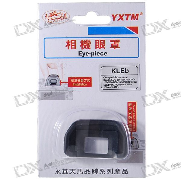 YXTM Eye-piece for Canon EOS 5D/40D/30D/1000N/1000FN + More Digital Cameras