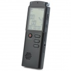 1.6' Screen Digital Voice Recorder MP3 Player - Black (8 GB)