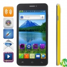 "Newish L19K (Z6_TL ) Android 4.0 GSM Bar Phone w/ 5.0"" Capacitive, Quad-Band and Wi-Fi - Yellow"
