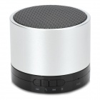 BL-788F Bluetooth v3.0 Speaker w/ Microphone / TF / Hands-Free / Antenna - Silver + Black