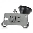 Car Mouted Suction Cup Holder + Bracket for Samsung Galaxy S4 i9500 - Black