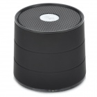 A1 Portable Mini 2-Channel Bluetooth v3.0 Speaker w/ Microphone / FM - Black