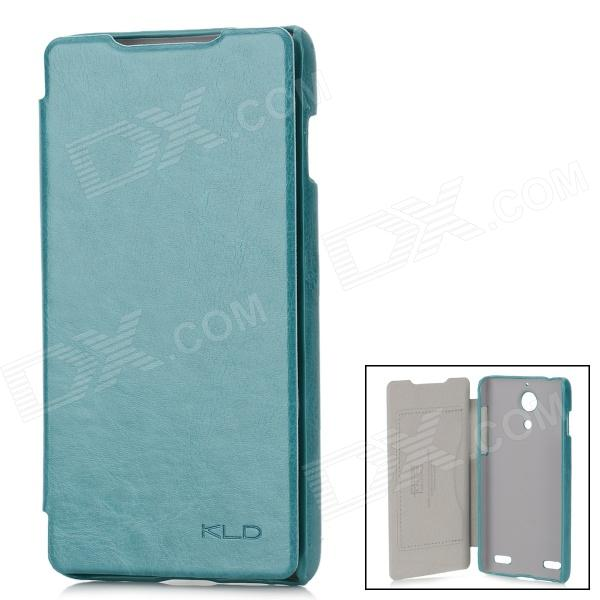KALAIDENG Enland Series Fashionable Protective Flip-open PU Leather Case for ZTE Nubia Z5 - Green