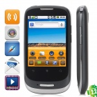 "HUAWEI U8180 Android 2.2 WCDMA Smartphone w/ 2.8"" Capacitive Screen, Wi-Fi and GPS - Black + Silver"