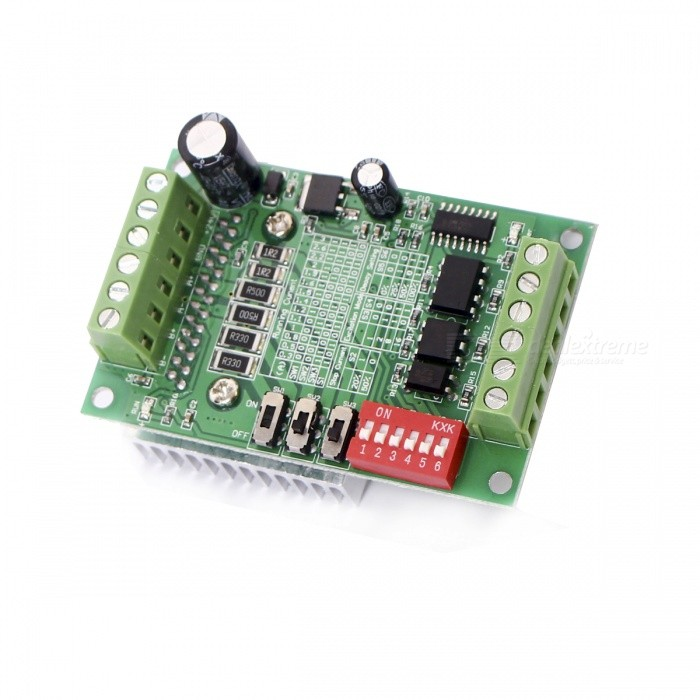 TB6560 3A Single-Axis Controller Stepper Motor Driver Board - Green + Black + Red