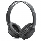 YJ-5800 Stereo MP3 Player Headphones w/ / TF / FM - Black