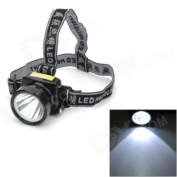 WeiQiang WQ-Q3 Rechargeable 40lm 3-Mode White LED Headlamp - Black