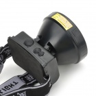WeiQiang WQ-Q6 Rechargeable 80lm 3-Mode White LED Headlamp - Black
