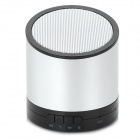 Stylish Bluetooth v3.0 Speaker w/ Microphone / TF for Iphone / Samsung - Black + White + Silver