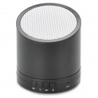 Stylish Bluetooth v3.0 Speaker w/ Microphone / TF / Hands-Free for Iphone / Samsung - Black