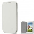 NILLKIN Stylish Protective PU Leather Case w/ Screen Film for Samsung i9500 - White