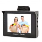 "4.3"" TFT LCD Wrist Style Rechargeable NTSC / PAL Surveillance Camera Video Tester - Black"
