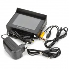 "4.3 ""TFT LCD pulso estilo recarregável NTSC / PAL Surveillance Camera Tester Video - Preto"