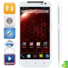 "N920e MTK6589 Quad-Core Android 4.2.1 WCDMA Bar Phone w / 5,0 ""HD, Wi-Fi und GPS - Weiß"