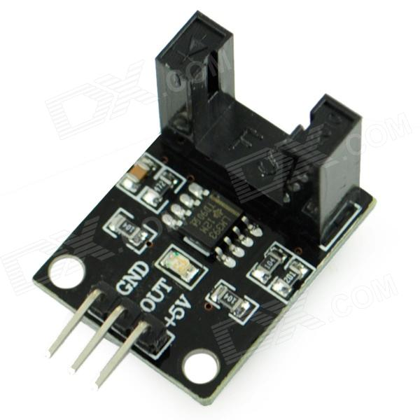 LM393 Beam Photoelectric Sensor - Black