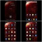 "N920e MTK6589 Quad-Core Android 4.2.1 WCDMA Bar Phone w/ 5.0"" HD, Wi-Fi and GPS - Black + Red"