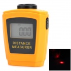 CPTCAM CP3006 Mini Ultrasonic Distance Measurer w/ Laser Pointer - Orange + Black (1 x 23AE 12V)