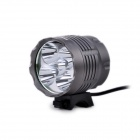 FandyFire YM-5T6 4-Mode 2500lm Bicycle Light w/ Cree XM-L-T6 - Grey (4 x 18650)