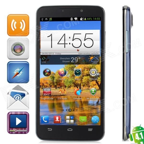 ZTE N5 Grand MEMO Quad-Core 1.5GHz Android 4.1 3G Smartphone w/ 5.7″, 2GB RAM, 16GB ROM and GPS