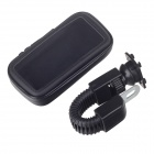 Motorcycle Bicycle Water Resistant Holder / Stand for GPS / Cell Phone - Black
