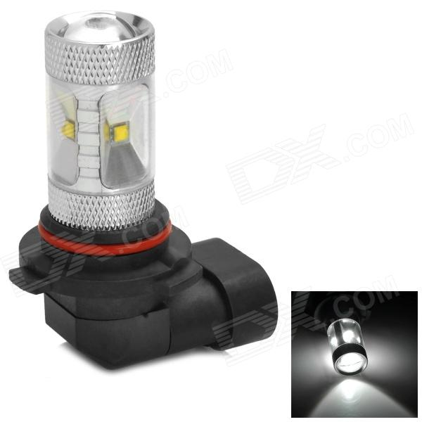 HJ0504 9006 6W 600lm 6500K White Light Car Headlamp w/ 6-CREE XBD R3 - Silver (10~30V) hj y h4 16w h4 600lm 6500k white light car headlamp w 6 cree xb d r3 silver 10 30v