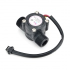 Water Flow Sensor - Black (Hot Water Type)