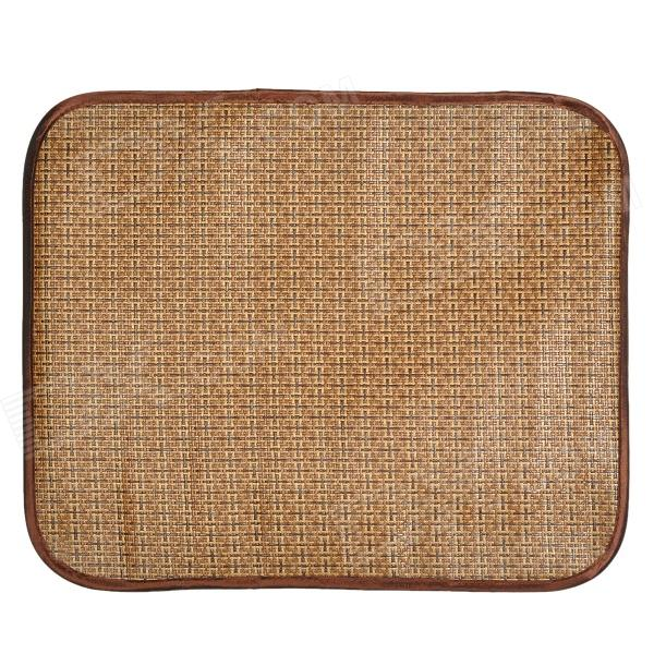 XZ003 Pet Dog / Cat Sleeping Plant Fiber Mat - Brown (Size L) pet carrier bag for cat dog medium size brown