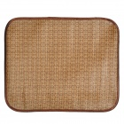 XZ003 Pet Dog / Cat Sleeping Plant Fiber Mat - Brown (Size L)