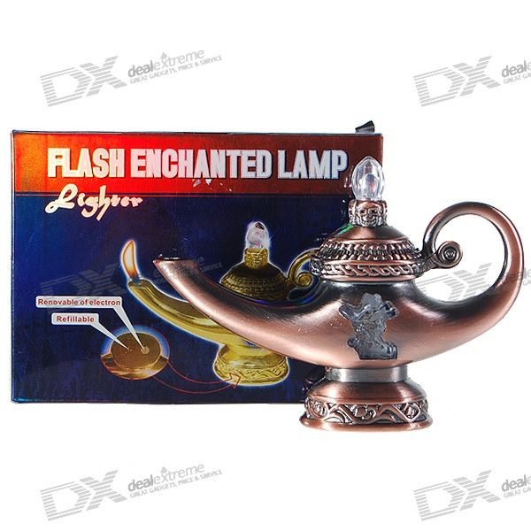 genie-lamp-shaped-2-led-rgb-flashing-butane-lighter