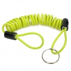 Motorcycle Lock Reminder Cable - Light Green