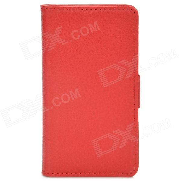 Protective Lichee Pattern Flip-Open Style PU Leather Case for Nokia ...