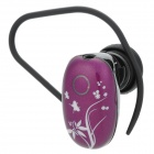 UTEL H52 Mini Bluetooth V3.0 Stereo Earbud Earphone w/ Handsfree / Audio - Black + White + Purple