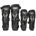 Scoyoco K11 Motorcycle Dynamic Knee + Elbow Supports Kit - Black (2 Pairs)