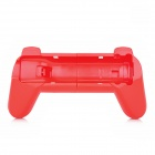Plastic Retractable Steering Wheel Handle for Nintendo Wii - Red