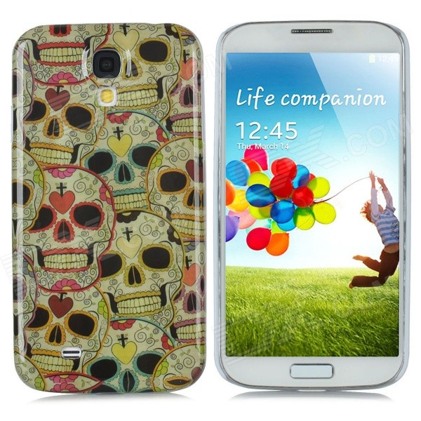 Skeleton Pattern Protective Plastic Hard Back Case for Samsung Galaxy S4 i9500 - Multicolored protective cute spots pattern back case for samsung galaxy s4 i9500 multicolored